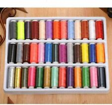 New 39PCS/Set Assorted Colorful Polyester Sewing Thread Spools Bobbin