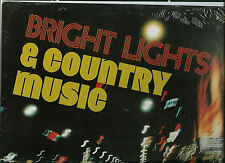 BRIGHT LIGHTS & COUNTRY MUSIC SEALED LP:Okie,Behind closed doors,Children