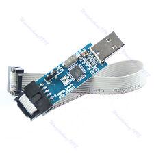 1pc USB ISP Programmer For ATMEL AVR ATMega ATTiny 51 Development Board
