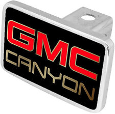 New GMC Canyon Red/Gold Logo Tow Hitch Cover Plug
