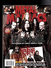 Metal Maniacs Magazine - Simmu Borgia, Marduk July  2007 Free US S/H