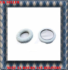 Leather Ear Foam Cushion Pads for Sennheiser PX200 PX200 II white *NEW