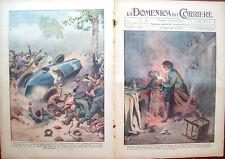 273) 1934 INCIDENTE A CAGLIARI E AUTOMOBILISMO A PARIGI DOMENICA DEL CORRIERE