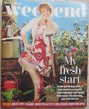 Fern Britton Daily Mail Weekend magazine – 29 March 2014