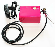 Airbrush makeup system kit with single action airbrush QLC01RK