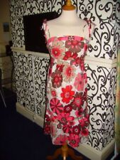 Rouge & Blanc Daisy Prusse Laura Lees for Topshop Robe Kitsch Petite Bnwt £ 45 NOUVEAU