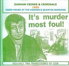 Durham crímenes y delincuentes 1868