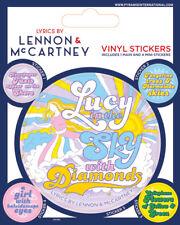 Lyrics by Lennon McCartney Lucy In The Sky With Diamonds 5 Vinyl Sticker Beatles