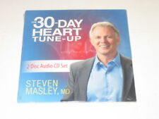 The 30-Day Heart Tune-Up 2 Disc Audio CD Set Steven Masley, MD. NEW