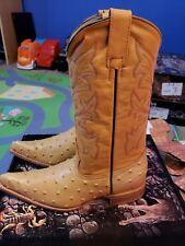 Jr boy cowboy boots size 6