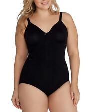 704d2fe145 Body Wrap BLACK The Pinup Plus Full Figure Underwire Bodysuit