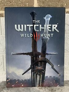 The Witcher 3: Wild Hunt Official Collectors Edition Strategy Guide Hardback New