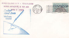 United States 1963 Nike Rocket Launched 7th Dec VGC D