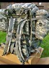 USGI Military ACU Molle II Large RuckSack Backpack Assembled w/frame FAIR/Good