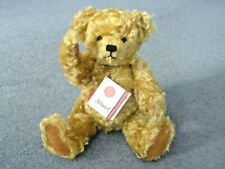 More details for hermann teddy mohair teddy bear fully jointed with growler, size 12