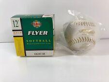 Diamond Gold Stitch Softballs Flyer Fastptich Softballs 12Gsc-44 1 Ball in Box