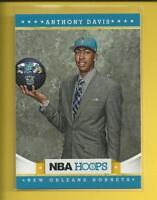 Anthony Davis RC  2012-13 NBA Hoops Rookie Card # 275  New Orleans Pelicans