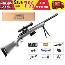 GJ M24 Rifle Gel Balls Blaster Toy Gun Manual Bolt Action Mag Feed Water Ammo UK