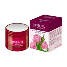 Multi Active DAY CREAM Age Control 50ml Pure BULGARIAN ROSE OIL Paraben Free