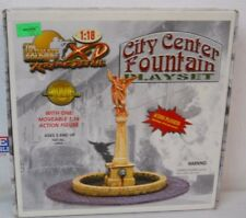 2001 21ST CENTURY TOYS THE ULTIMATE SOLDIER X-D CITY CENTER FOUNTAIN SET FIGURE
