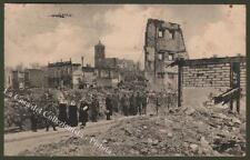 France, Champagne - Ardenne. RETHEL. Cartolina d'epoca viaggiata nel 1916.