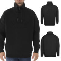Hugo Boss Men's Salboa Zip Up Mock Neck Sweatshirt
