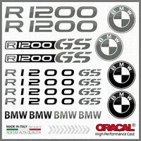 16x R1200GS Black/Grey BMW MOTTORAD ADESIVI R1200 GS PEGATINA STICKERS R 1200