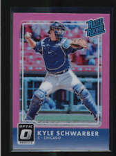 KYLE SCHWARBER 2016 PANINI DONRUSS OPTIC RATED ROOKIE PINK AH2257