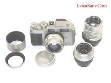 Contax G1 Titanium Camera With Contax 28mm, 45mm, 90mm T* G lenses Ex++