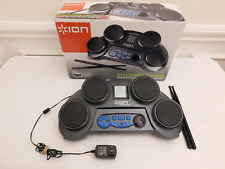 Ion Discover Drums tabletop electronic drum kit set small portable drumming