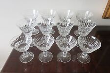 12 Waterford Crystal Goblets TRAMORE MAEVE Cut Stemware- 4 Settings of 3 Glasses