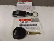GENUINE KIA GRAND CARNIVAL MPV 3.5L PETROL ALL MODEL 6 BUTTON REMOTE & KEY SET