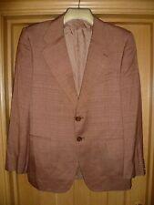 "Sidi by gft Italy men's jacket copper/tan vintage size M 40"" Waddington vgc"