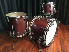 Ludwig drums sets Classic Maple USA Made 3p Satin Mahogany 13, 16F, 22 NEW