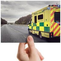 """Ambulance Vehicle Emergency Small Photograph 6"""" x 4"""" Art Print Photo Gift #15804"""