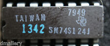NOS TI SN74S124J  qty 1 hi-rel    cerdip16   Ships: in USA tomorrow!