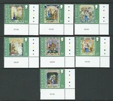 GUERNSEY 2012 CHRISTMAS SET OF 7 UNMOUNTED MINT, MNH
