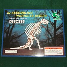 3D Wooden Dinosaur Spinosaurus Skeleton Puzzle by Iq Assembling Products New 6+