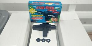 Vintage 1975 Remco Star Trek Phaser Gun Tested Working With Box