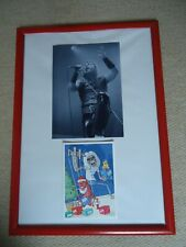 More details for iron maiden christmas card 2004 faux signed vintage+ iron maiden photo image gem