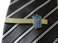 Doctor Who Tardis Police Box Tie Clip