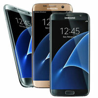 Samsung Galaxy S7 Edge G935A SM-G935A AT&T Factory Unlocked 32GB GSM Phone Great