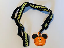 Disney Pumpkin Pin Lanyard