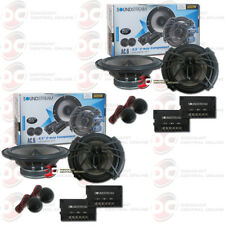 4 x SOUNDSTREAM AC.6 6.5-INCH 6.5