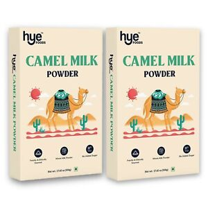 HYE FOODS Camel Milk Powder |Spray Dried| Pure and Natural | 500g x 2 |35.27 Oz