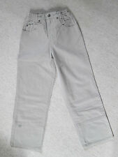 Maas Natur Twill Hose Jeans beige steppe bequem 128 Biobaumwolle NP 38,90