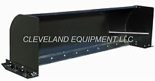 "NEW 96"" SNOW PUSHER ATTACHMENT Skid Steer Loader Bobcat Box Push Plow Blade 8'"