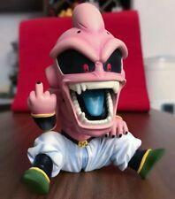 Dragon Ball Z Funny Majin Buu Kid One-Finger Salute Sd Mini Pvc Figure No Box