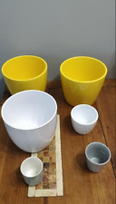 Flower pots lot