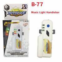 Beyblade Burst B-77 Beylogger Plus bb87484 Launcher LED Music Grip Handle Xmas